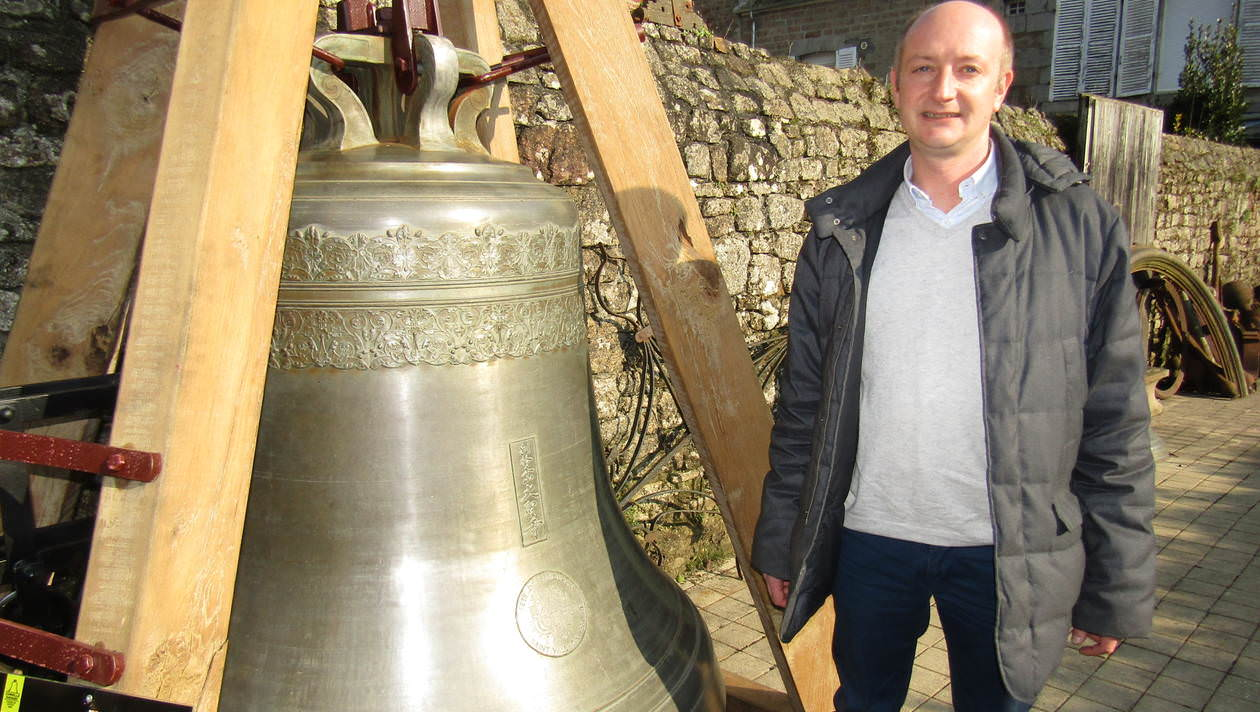 Paul Bergamo, dirigeant de la fonderie de cloches Cornille Havard. - Photo Ouest France