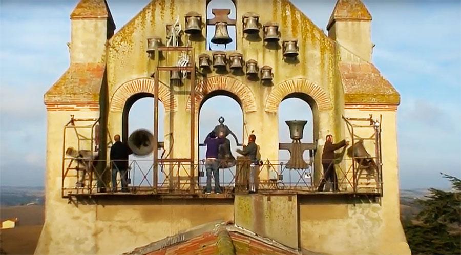 Volee Tournante St-Remi-de-Lagarde-Lauragais - Photo CarillonsTarnais