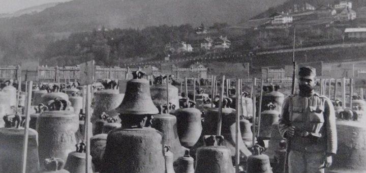 Destructions de cloches pendant la première guerre mondiale