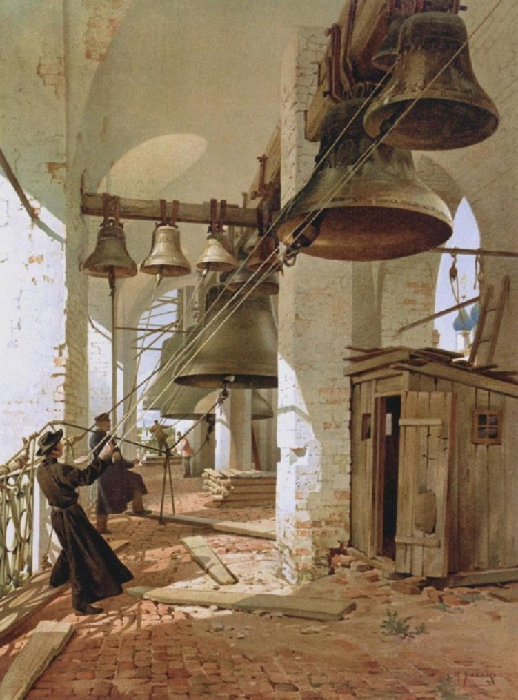 Sonneurs de cloches par Billie Mikhail Yakovlevich